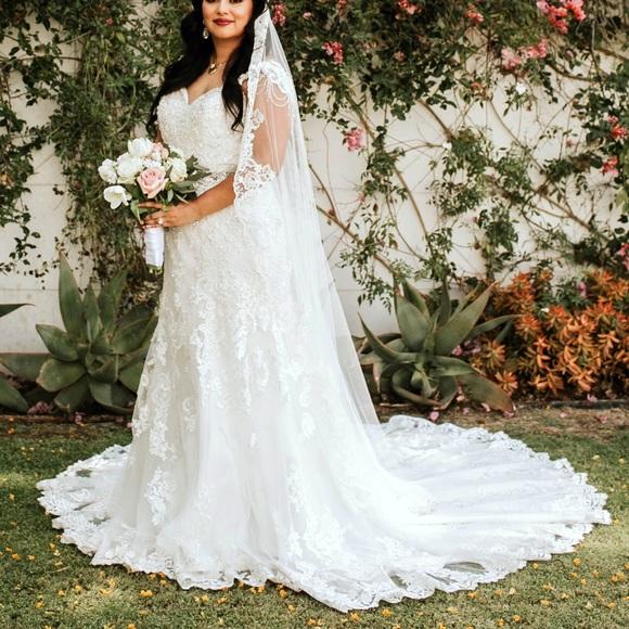 Kenneth Winston Dresses Gorgeous Wedding Dress With Belt Poshmark